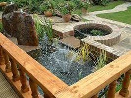 Landscape gardeners - water features