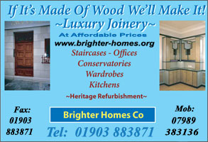 Joinery Manufacturers Littlehampton East Sussex
