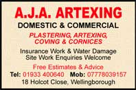 Plastering, artexing, coving and cornices