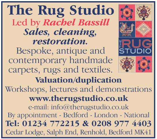 bespoke, antique and contemporary handmade carpets, rugs and textiles