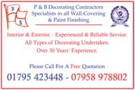 decorating contractors / wall covering /paint finishing
