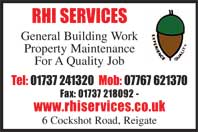 general building work, property maintenance