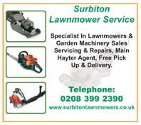 lawnmowers & garden machinery sales - service & repairs, main hayter agent