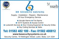 Security systems - CCTV stystems - Intruder alarms - Fire alarm - Access Control