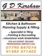Kitchen / bathroom planning supply and fitting - painting and decorating specialists