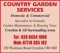Domestic & Commercial - specialists in grounds and garden maintenance