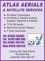 Atlas arial and satellite services