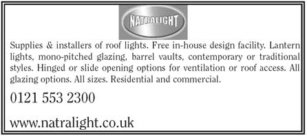 Suppliers and installers of roof lights