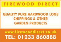 hardwood logs - chippings and other garden products