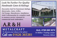 Decorative & Functional Railings, Balustrades, Gates & Grilles.