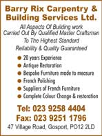 Carpentry and Building services
