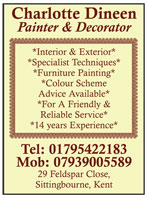 interior and exterior painter and decorator