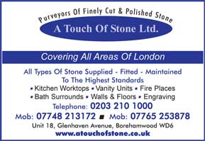 Marble - All types of stone supplied and fitted