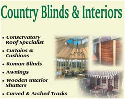 Roman Blinds, awnings