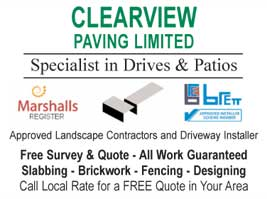 Specialists in drives and patios
