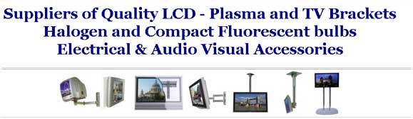LCD - plasma and TV brackets