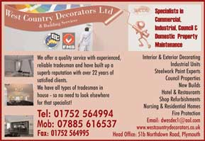PAINTERS & DECORATORS Plymouth