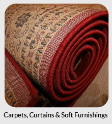 carpets, curtains and soft furnishings