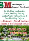 S.M. Landscapes & Property Maintenance